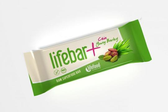 Lifefood Lifebar plus - chia a ml. ječmen BIO