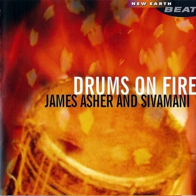 CD - Drums of fire - James Asher