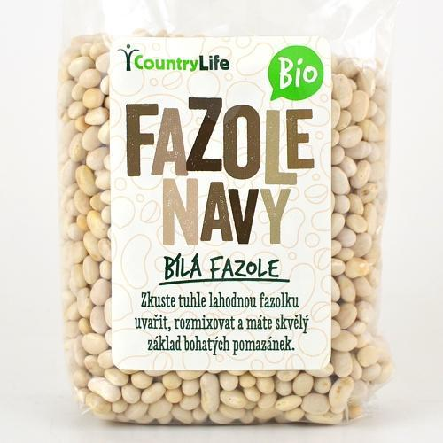 Country Life Fazole navy 500 g