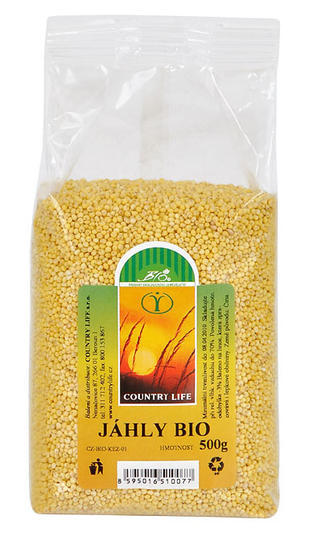 Country Life Jáhly 500 g BIO