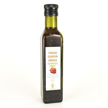 Olivový olej s chilli Trinidad scorpion 220 ml  - 1