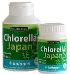 Health Link Chlorella Japan + kolagen 250 tablet